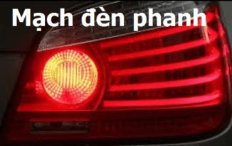 Bài 3: Học mạch điều khiển đèn phanh