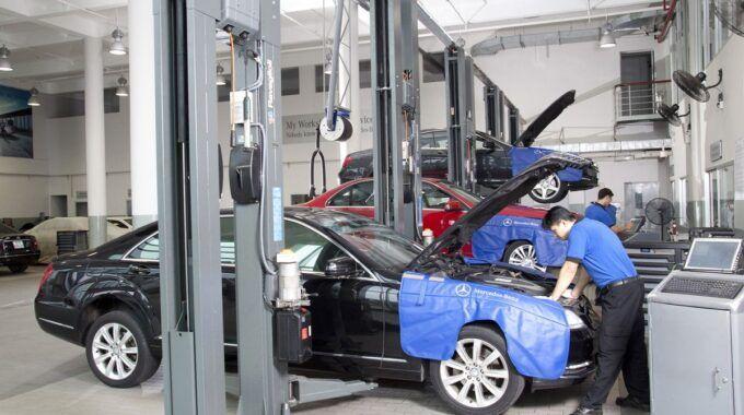 Cơ hội được làm việc tại Mercedes Benz của học sinh cấp 3