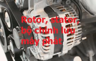Bài 4: Học máy phát điện xoay chiều trên ôtô