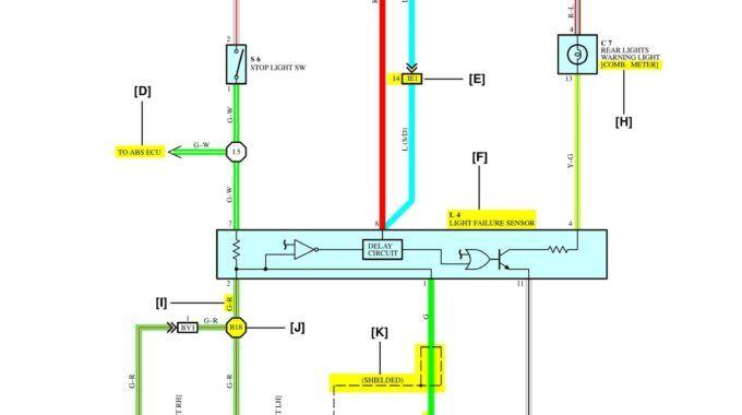Bài 2: Đọc sơ đồ đấu dây trên ôtô