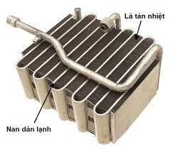 Bài 6: Tìm hiểu giàn lạnh hệ thống điều hòa ôtô