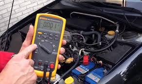 Bài 7: Đo điện áp rơi, điện áp tại điểm đo trên mạch điện ôtô
