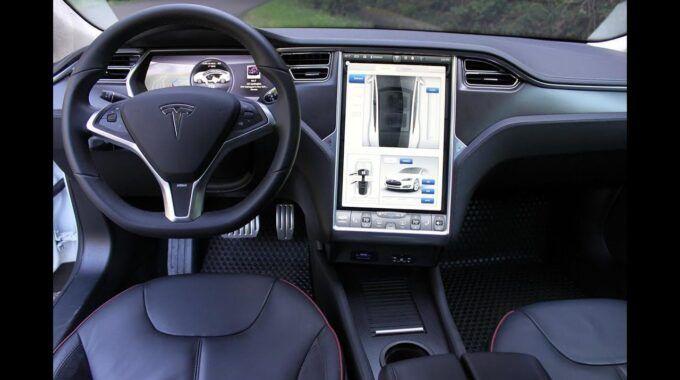 Tìm hiểu các chức năng trên xe Tesla model S 70 2016