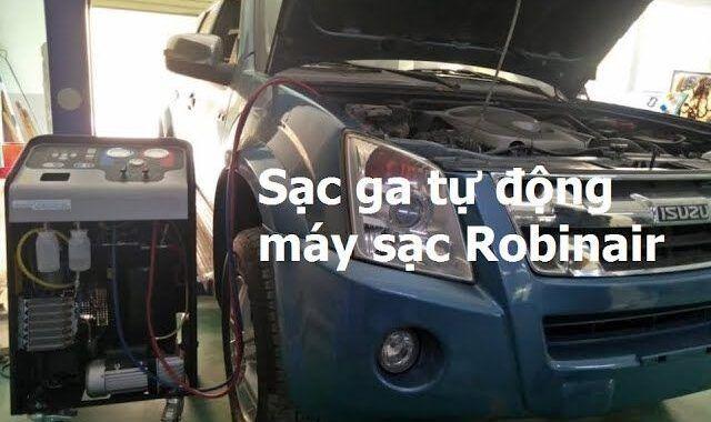 Bài 11: Sạc ga hệ thống lạnh ôtô bằng máy sạc tự động