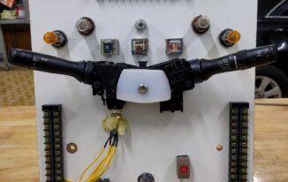 Hướng dẫn thi công mô hình Hệ thống chiếu sáng – tín hiệu Toyota Camry